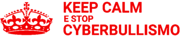 keep calm e stop cyberbullismo